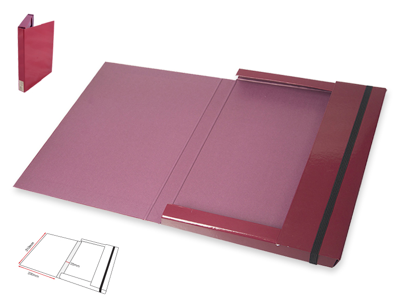 Document Holder L-Maroon