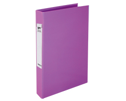 Slim 2Ring File L-Purple