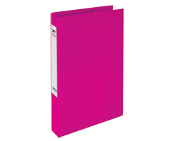 Slim 2Ring File L-Pink