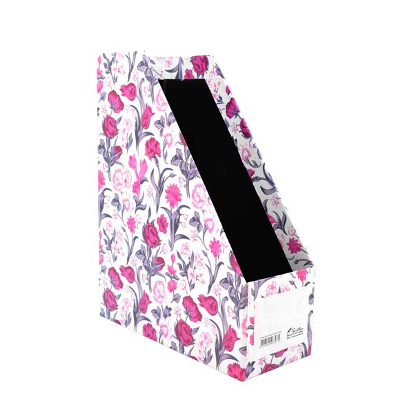 Magazine Holder Lami 4-Pink and Purple