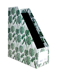 Magazine Holder L-Tropical Leaves