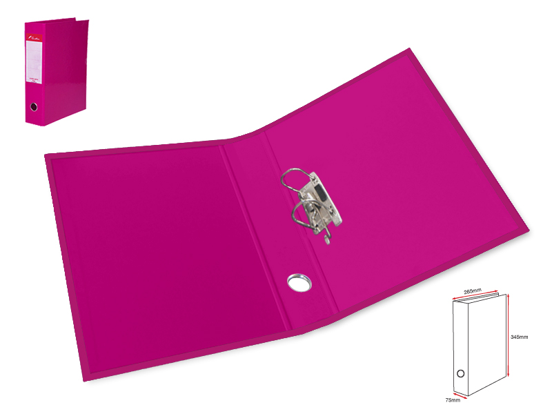 Boxfile 75mm L-Dark Pink