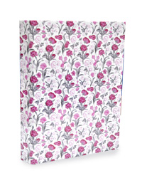2Ring File Lami Design-Pink and Purple