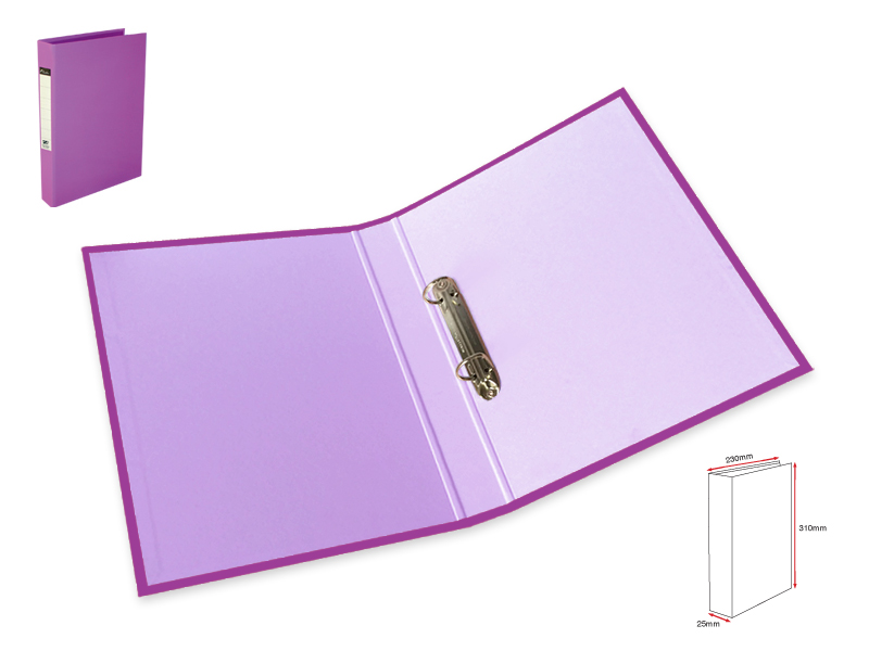 2Ring  File L-Purple