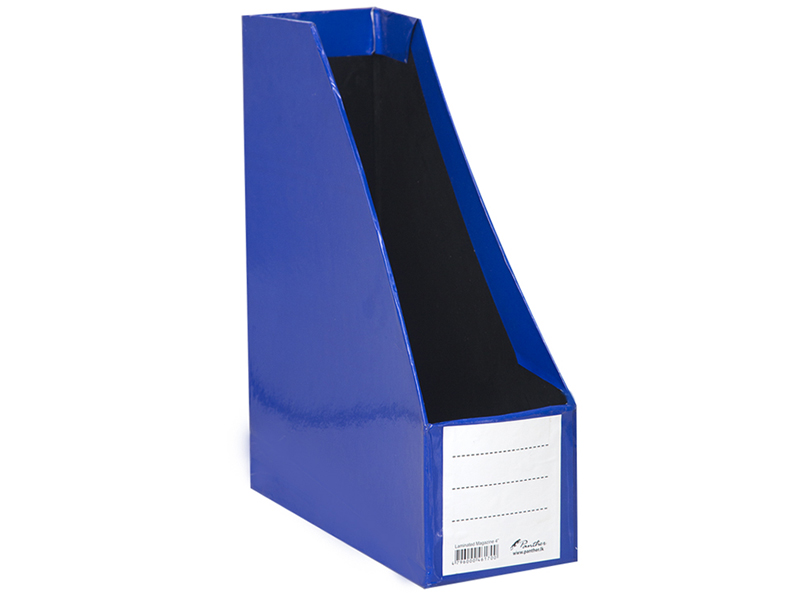 front-Magazine Holder L4-Dark Blue