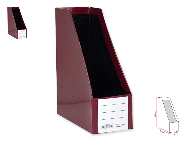 Magazine Holder L 4-Maroon