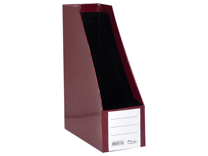front-Magazine Holder L 4-Maroon