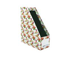 Magazine Holder L4- Classic Flowers