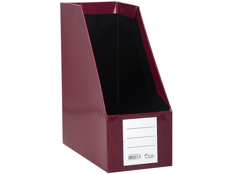 Magazine Holder L 6-Maroon