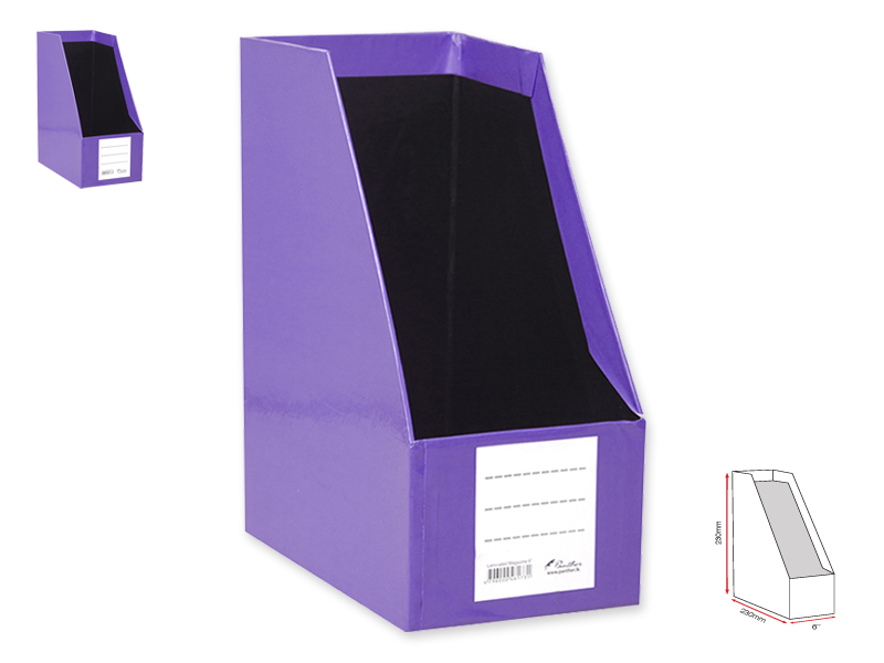 Magazine Holder L 6-Purple