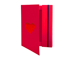 New item Hearts Document Holder