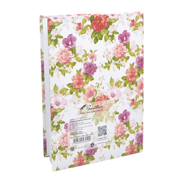 Classic Flowers A5 Diary Notebook