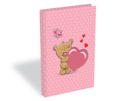 front-Teddy Diary A5 200P