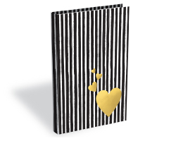 New item Stripes Diary A5 200p