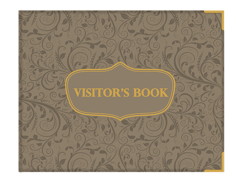 Visitors Book Padded