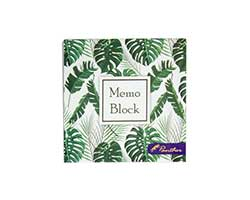 Tropical Leaves Memo Block
