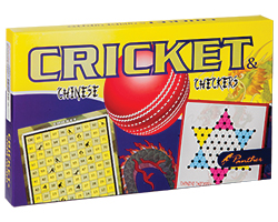 front-Cricket and Chinese Checkers