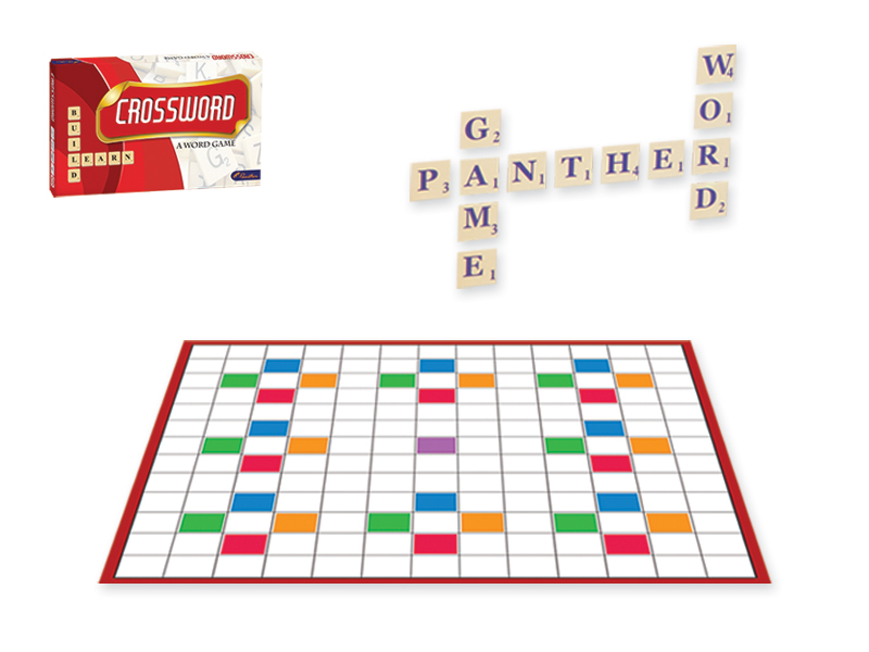 Cross Word Puzzle- Word building activity