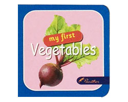 Board Books My First Vegetables
