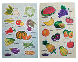 Fruits and Vegetable Card