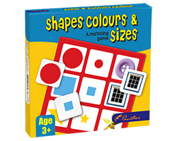 Shapes Colour And Sizes