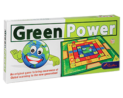 Green Power Board Game  - English