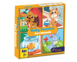 Baby Puzzle - Pet Animals