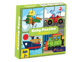 Baby Puzzle - Transport
