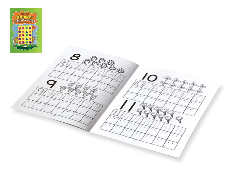 First Number Activity Book