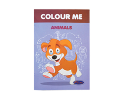 Color Me Book Animals