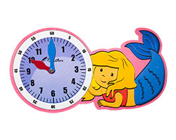 Clock Mermaid