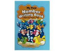 My First Number Writing Book
