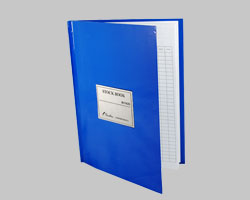 Stock Book A4 160pg